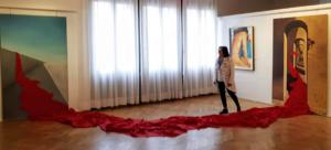 Opera Forze in movimento a Palazzo della Loggia Noale (Ve)