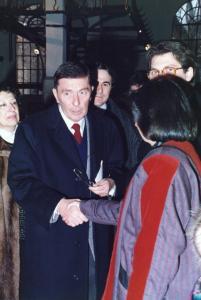 Con Paolo Rizzi, giornalista e critico d'arte