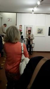 Luigi Marotti presenta la mostra