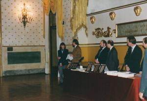 """Sala Rossini Padova. Premio letterario """"Francesco Petrarca"""" Premiazione"""