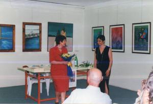 Serata con la scrittrice Carla Rugger. Galleria Artisti Aponensi. Abano Terme
