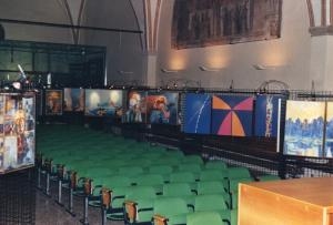 AKWAABA - Mostra di Arte Sacra - Basilica di Sant'Antonio Padova - sala mostra
