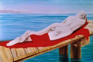 Ninfa dormente - omaggio a Canova