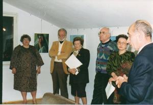 """Galleria """"Donatello"""" Padova - presentazione mostra con il critico d'arte Giuseppe Mugnone"""