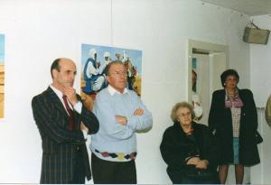 """Galleria """"Donatello"""" Padova presente tra il pubblico l'artista Adolfo Corredig"""