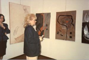 """Galleria """"Donatello"""" Padova - presentazione mostra collettiva con Lidia Maggiolo"""