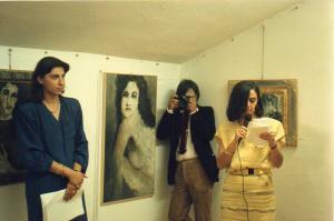 """Galleria """"Donatello"""" Padova - presentazione mostra personale della pittrice veneziana Lucia Lucchesino"""